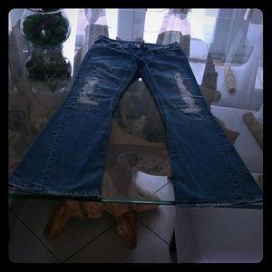 True Religion Joey Distressed Jeans